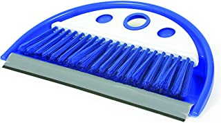 Camco 43945 Dust Pan with Whisk