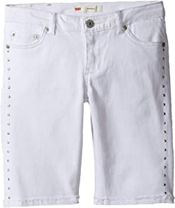Levi's® Kids - Sideseam Bermuda Shorts (Big Kids)