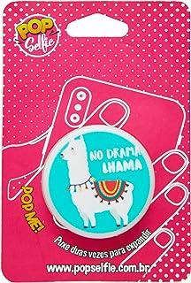 Popsocket Original no Drama Lhama Ps190, Pop Selfie, 151386, Branco