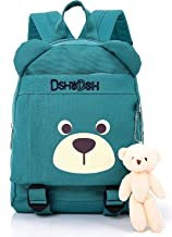 Children Cotton Kids Backpack Folder School Bags Puppy for Boy Neutral(Blue)