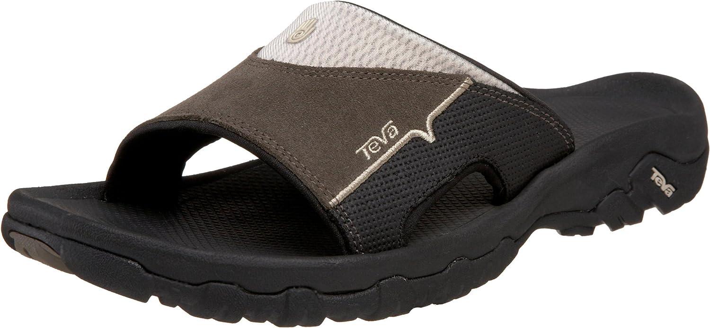 Teva Men's Katavi Slide Outdoor Sandal, Bungee Cord, 9 US