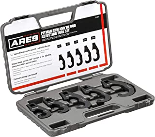 ARES 71507 - Pitman Arm and Tie Rod Adjusting Tool Set - 1/2-Inch Drive - Unique Design Allows 360-Degree Rotation of Adjusting Sleeves