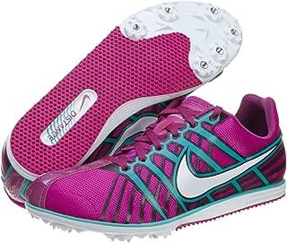 Womens Zoom Rival D 6 Running Shoe,Vivid Grape/Burnt Turquoise/Black/White,7.5 B US