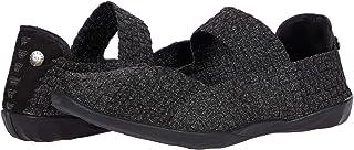 بيرني ميف. حذاء كادلي أسود عاكس 37 (مقاس 7) مقاس متوسط