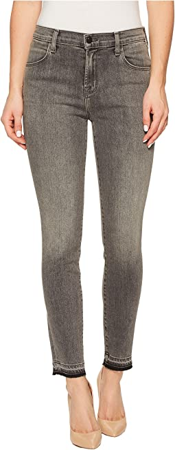 J Brand - Alana High-Rise Crop Skinny in Earl Grey