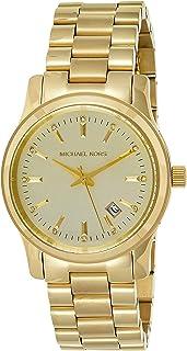 Michael Kors Women's MK5128 - Runway Chronograph Shiny Rose Gold/Light Rose Gold Watch