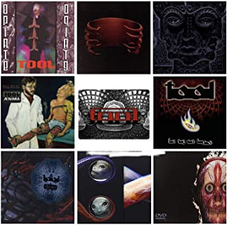Tool: Complete Studio Album CD & DVD Collection + Bonus Art Card
