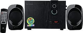 Zebronics ZEB-SW2492RUCF 2.1 Multimedia Speaker (Black)