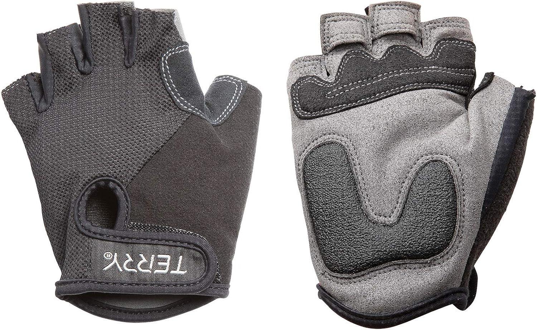 Terry T-Gloves Women/'s Padded Half Finger Mesh Bike Gloves