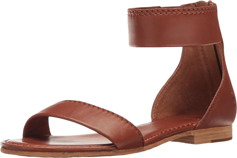FRYE Woherrar Woherrar Woherrar Carson Ankle Zip Sandals  med billigt pris för att få bästa varumärke