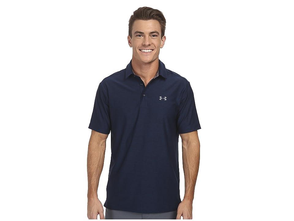 Under Armour Golf UA Playoff Polo (Academy/Graphite/Graphite) Men