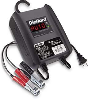 DieHard 71321 Compact Smart Battery Charger & Maintainer 6/12 Volt 6 Amp