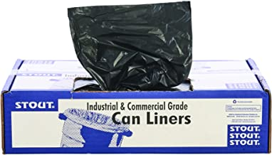 STOUT by Envision STO-L3339K95 LLDPE ProPerformance Can Liners, 33