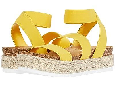 Steve Madden Kimmie Espadrille Sandal (Yellow) Women