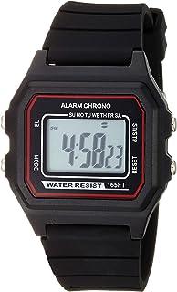 Unisex Digital Chronograph Silicone Strap Watch