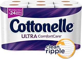 Cottonelle Ultra ComfortCare, Toilet Paper, 12 Rolls