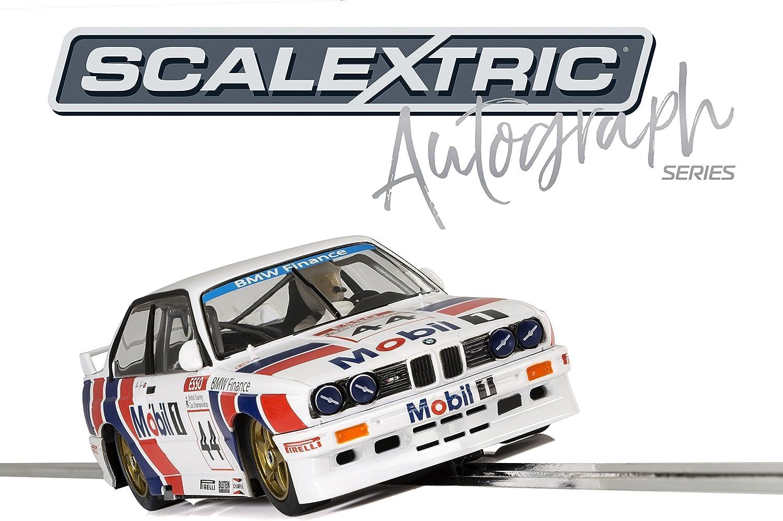 Scalextric C3782AE Autograph Series BMW E30 M3  Steve Soper  Special Edition