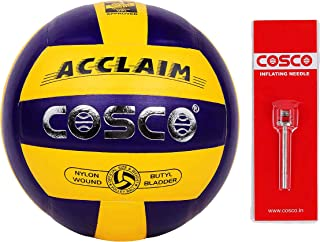Cosco Unisex Adult Acclaim Volley Ball, Multi-Colour, 4