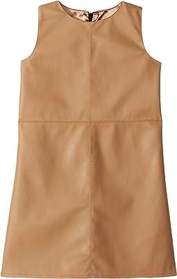 eve jnr Vegan Leather Dress (Toddler/Little Kids)
