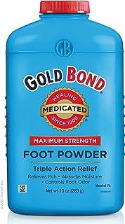 Gold Bond Maximum Strength Foot Powder, 10 Ounce, Multi