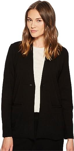 Eileen Fisher - Ponte Stand Collar Blazer