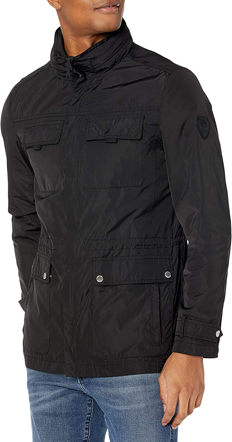 Vince Camuto Men's Field Jacket with Hood