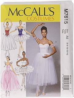 ballerina costume pattern