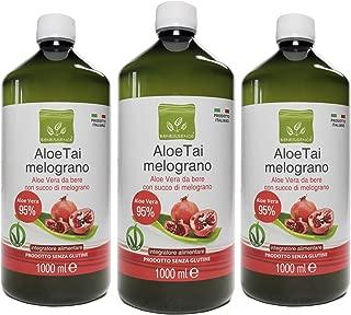Oferta: 3 litros de zumo de aloe vera y granada ;3 Botellas de 1 litro