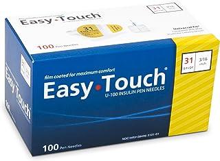 """Easy Touch 831361 Pen Needles 31 Gauge, 3/16"""""""