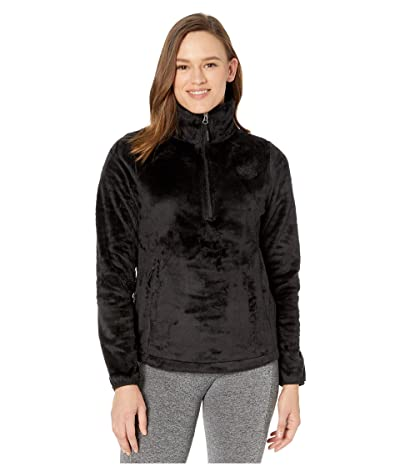 The North Face Osito 1/4 Zip Pullover (TNF Black) Women