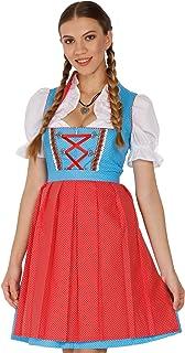 Lukas Dirndl Authentic bavarian Trachten Dirndl dress 3-pieces with apron and blouse