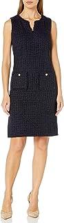 Karl Lagerfeld Paris Women's Novelty Tweed Shift Dress