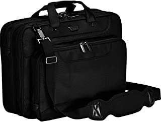 Targus Corporate Traveler Checkpoint-Friendly Professional Business Laptop Bag for 16-Inch Laptop, Black (CUCT02UA15S)