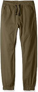Boys' Big Jogger Pants in Basic Stretch Twill Fabric