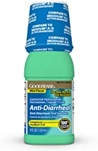 GoodSense Anti-Diarrheal Medicine, Loperamide Hydrochloride Oral Solution, 1 mg per 7.5 mL ,Mint Flavor, 4 Fluid Ounce