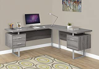 Monarch Specialties Computer Desk Left or Right Facing Dark Taupe 70
