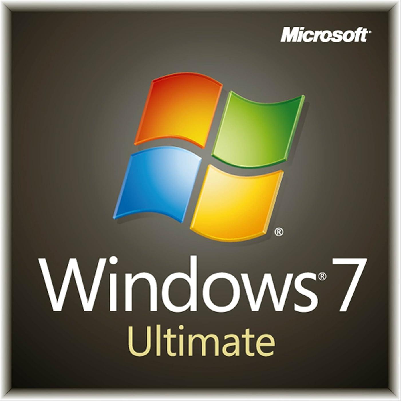 暗殺者アルカトラズ島フラフープ【旧商品】Microsoft Windows7 Ultimate 64bit  Service Pack 1 日本語 DSP版 DVD 【LANボードセット品】