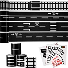 Washi tape road & railway stickers