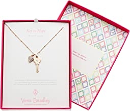 Vera Bradley - Key to Hope Necklace