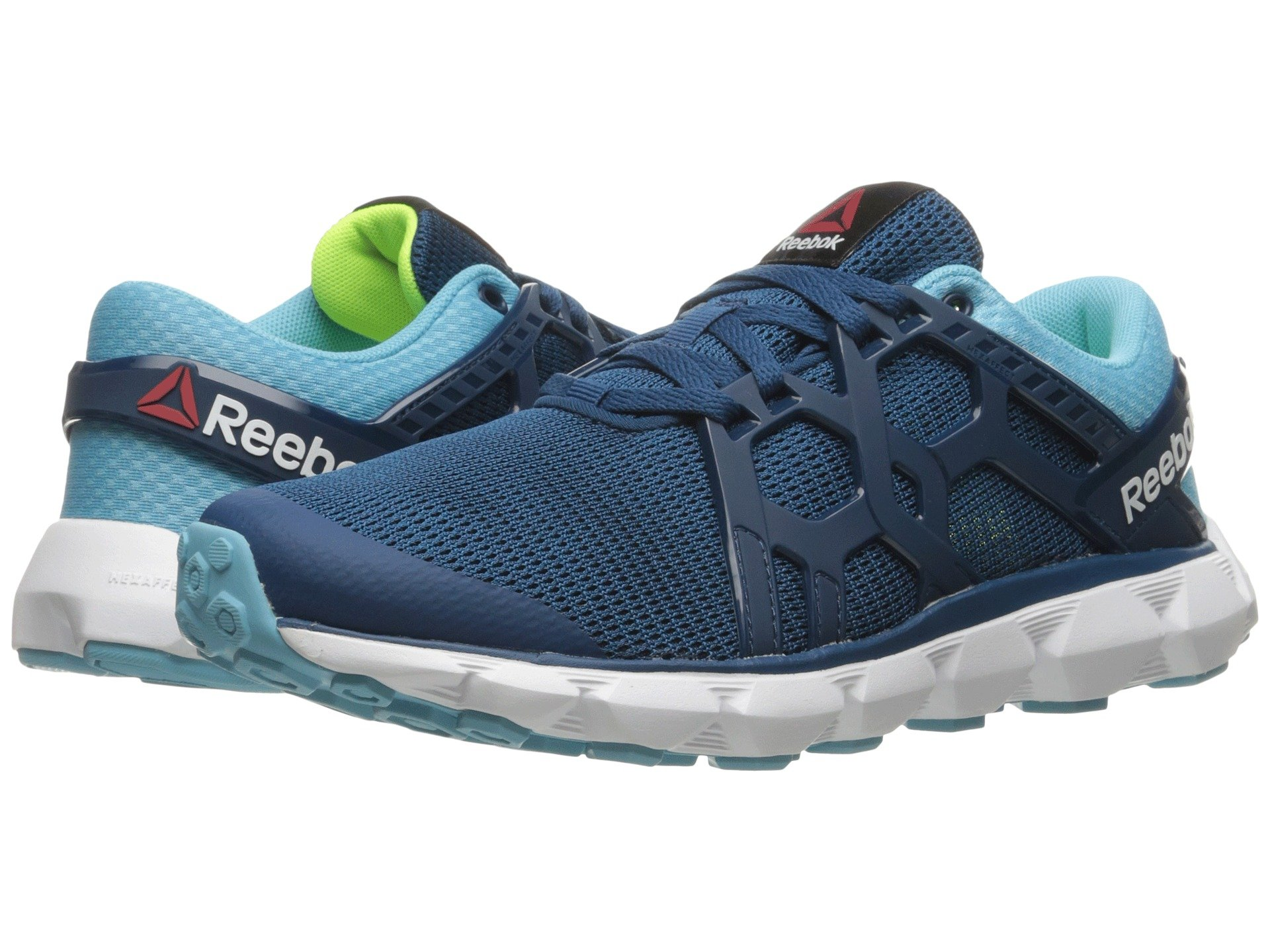 421f57b2188 Reebok Hexaffect Run 4.0 Mtm In Noble Blue Crisp Blue White Solar Yellow