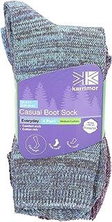 Karrimor Mens Casual Boot Sock 4 Pair Pack 6-11