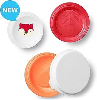 Skip Hop - Plato para bebé (goma antideslizante), Fox, Bowl
