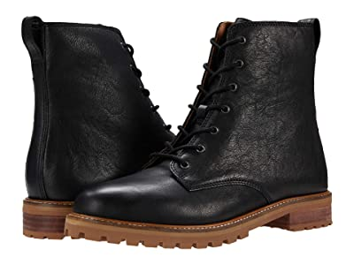 Madewell Clair Lace-Up Boot (True Black) Women