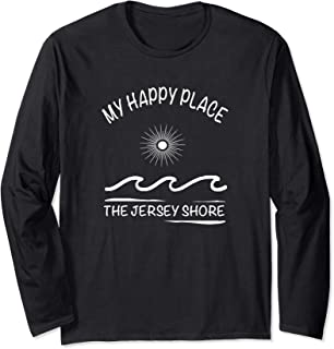 My Happy Place - The Jersey Shore Long Sleeve T-Shirt