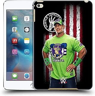 Official WWE John Cena American Flag Superstars Hard Back Case Compatible for iPad Mini 4