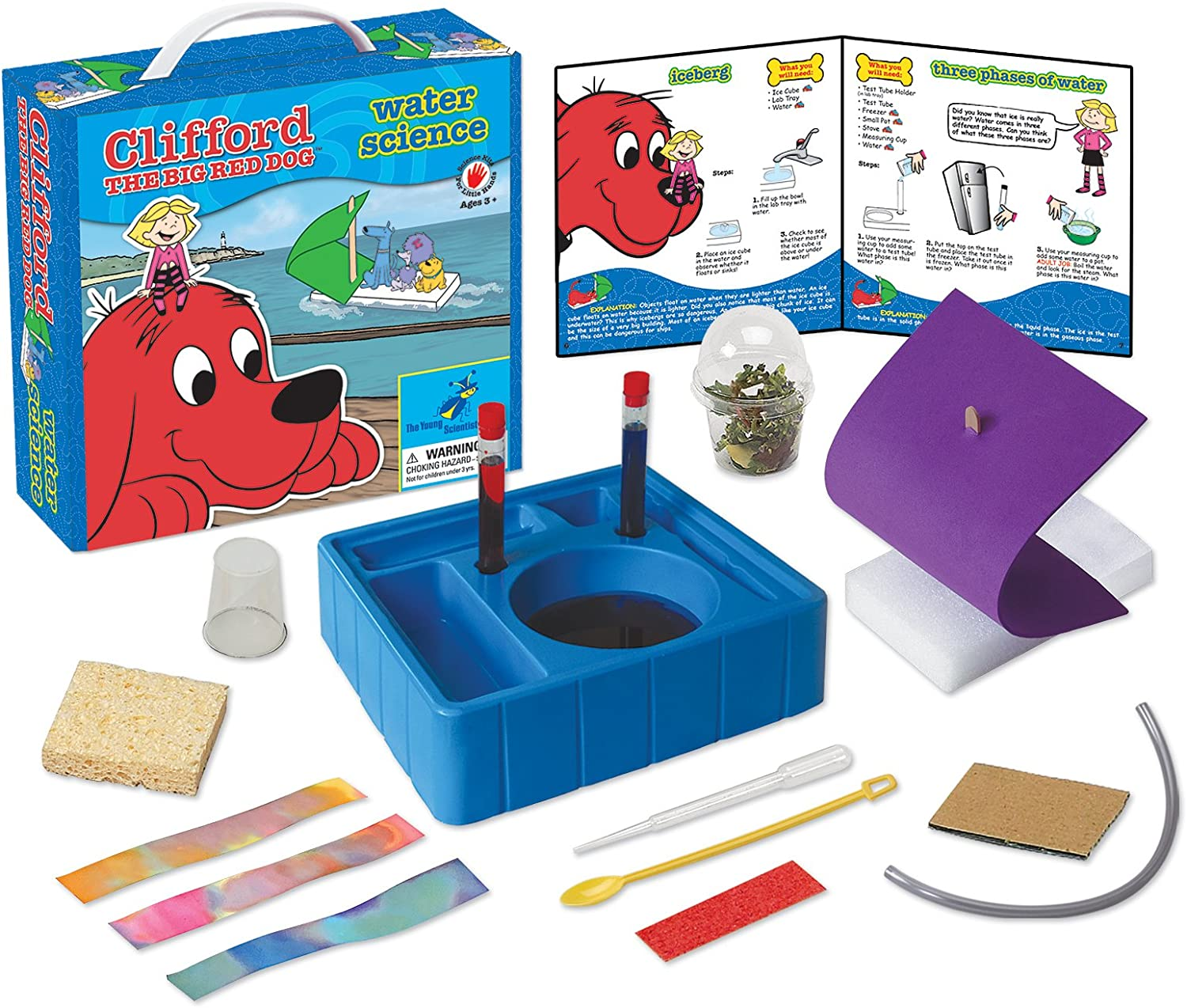 Young Scientist Club Clifford The Big Red Dog Water Science Kit