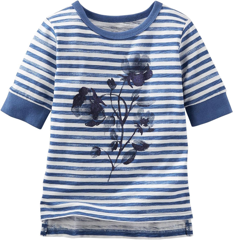 OshKosh B'Gosh Girls' Knit Fashion Top 31720910, Stripe, 6