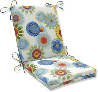 Pillow Perfect Indoor/Outdoor Multicolored Floral Square Chair Cushion
