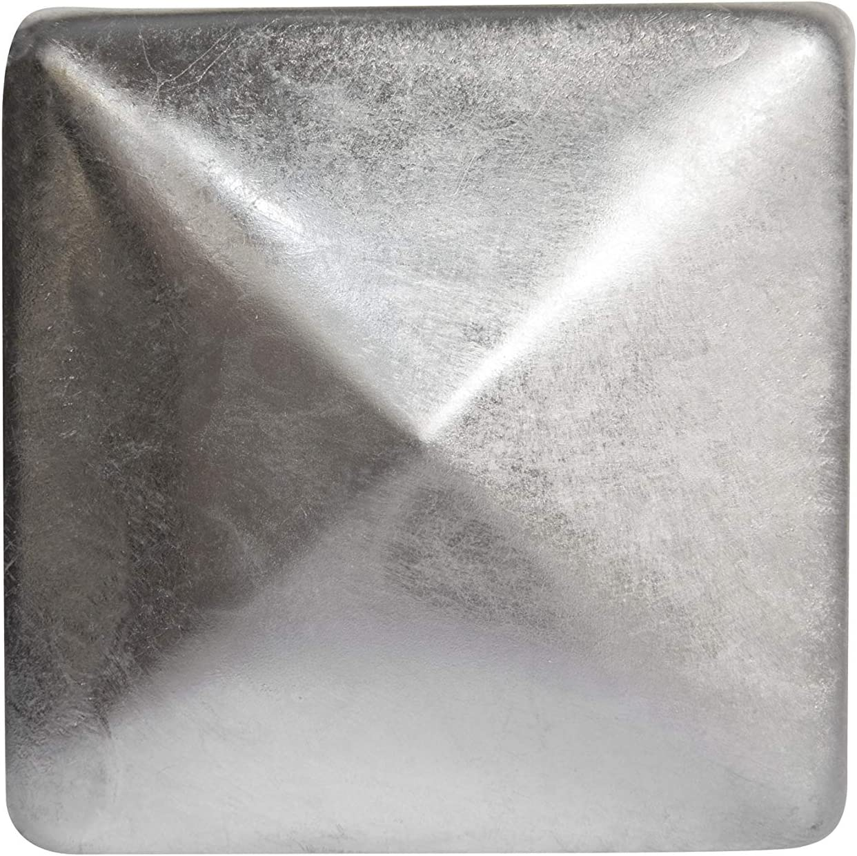 111x111m 10 x Pfostenkappe f/ür Zaunpfosten aus Verzinktem Stahl in verschiedenen Gr/ö/ßen