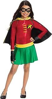 Rubie's Costume Boys DC Comics Robin Dress Costume, Medium, Multicolor